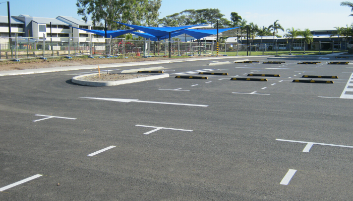 The Cathedral School of St Anne & St James Townsville Carpark