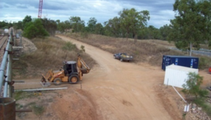 CSR access road, Burdekin