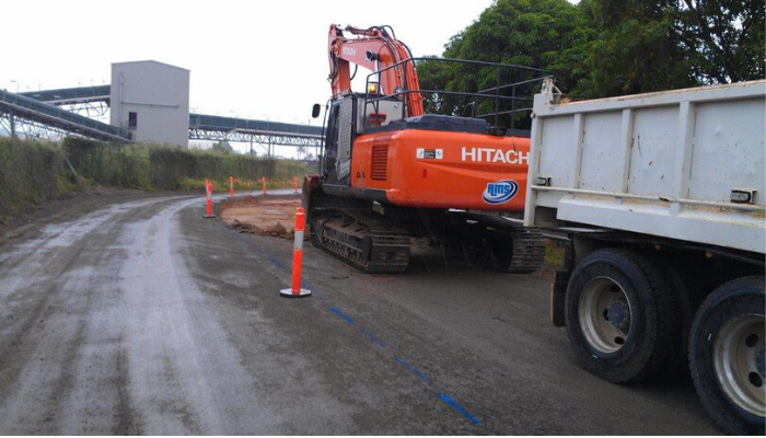 Port of Townsville, Jetty Station Road upgrade works.