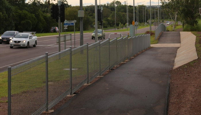 Vanderlin Drive link cycle path, Darwin